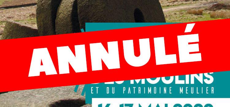 ANNULATION > Journées Européennes des Moulins et du Patrimoine Meulier 2020